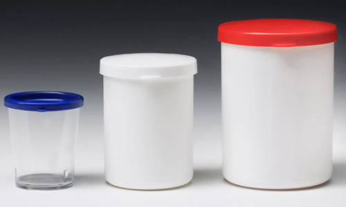 Snap on lid containers