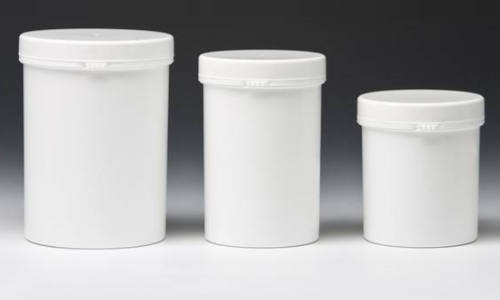 screw top containers with wrip off band