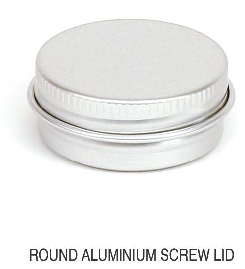 Round Aluminum Screw Lid