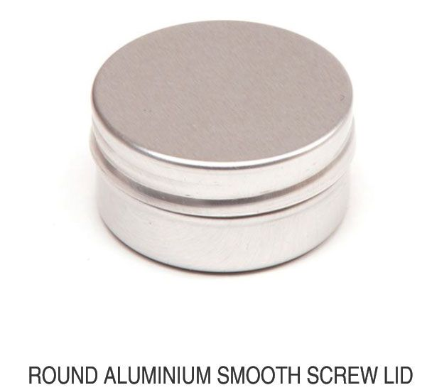 Round Aluminum Smooth Screw